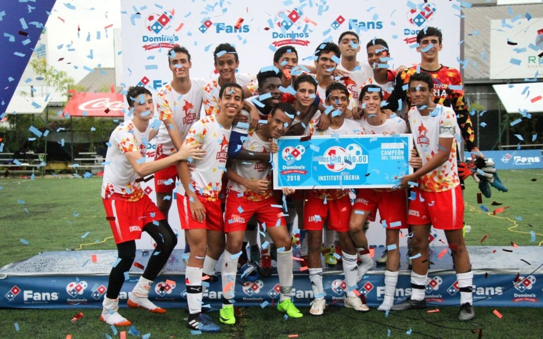Instituto Iberia Campeón del Domino´s Football Challenge