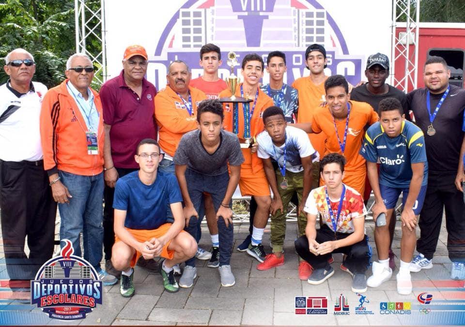 Instituto Iberia gana Oro en Futsal en los VIII Juegos Deportivos Escolares 2017